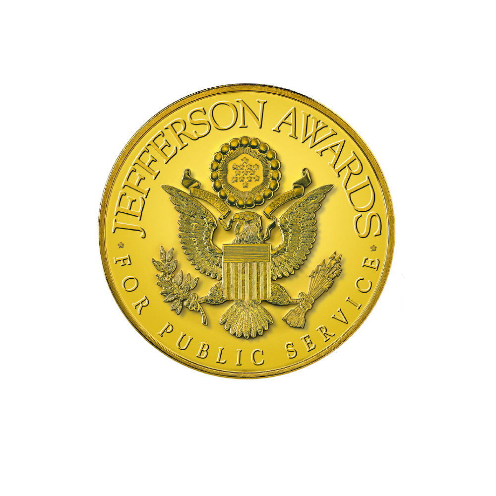 The Thomas Jefferson Medal for Outstanding Public Service - June 2001